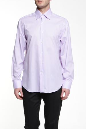 Рубашка Dormeuil. Цвет: сиреневый