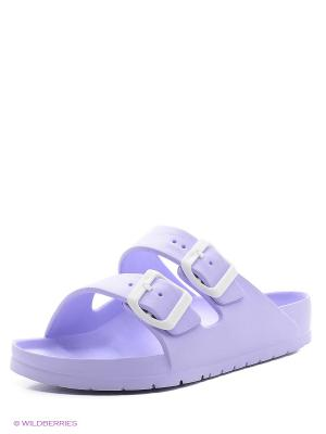Шлепанцы AYO. Цвет: фиолетовый