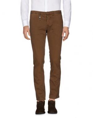 Повседневные брюки INDIVIDUAL. Цвет: коричневый