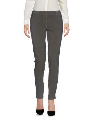 Повседневные брюки 19.70 NINETEEN SEVENTY. Цвет: стальной серый