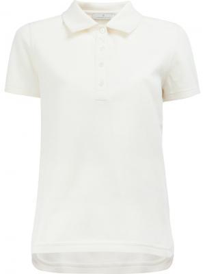 Классическая футболка-поло Maison Ullens. Цвет: белый