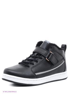 Ботинки Ascot. Цвет: черный, белый