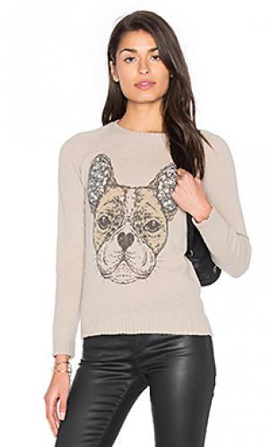 Кашемировый свитер north Lauren Moshi. Цвет: беж