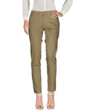 Повседневные брюки SUPERPANTS. Цвет: хаки