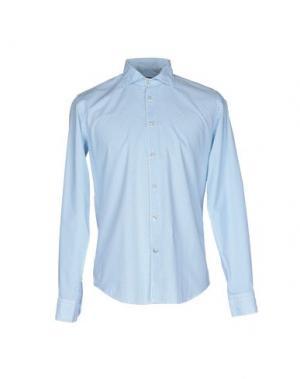 Pубашка BARBATI. Цвет: лазурный