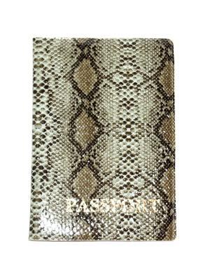 Обложка на паспорт Lola. Цвет: серый, черный