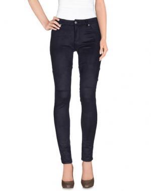 Повседневные брюки SUPERTRASH. Цвет: темно-синий