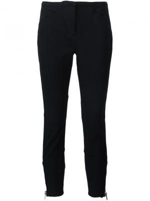 Укороченные брюки скинни 3.1 Phillip Lim. Цвет: чёрный