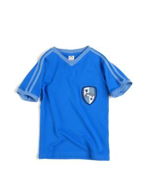 Футболка Appaman. Цвет: голубой