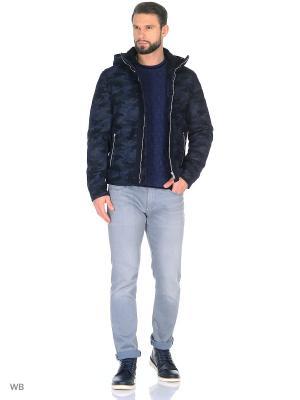 Куртка Trussardi. Цвет: синий, черный