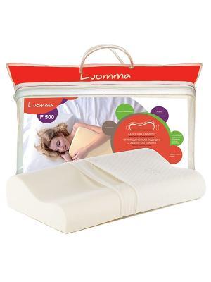 Подушка ортопедическая Luomma. Цвет: молочный