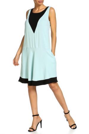 Платье Beatrice. B. Цвет: голубой, чёрный
