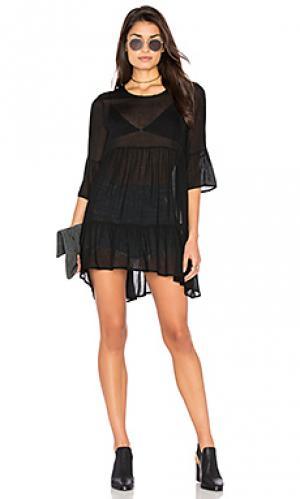 Платье axobridge American Vintage. Цвет: черный