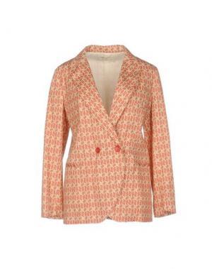 Пиджак E-GÓ. Цвет: ржаво-коричневый