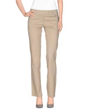 Повседневные брюки OLLY DOO. Цвет: бежевый