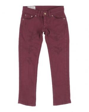 Джинсовые брюки DONDUP DQUEEN. Цвет: пурпурный