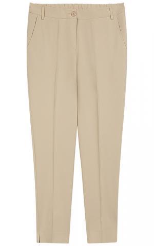 Бежевые брюки Le monique