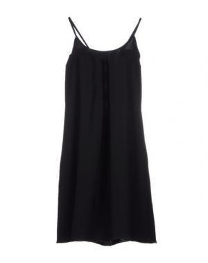 Короткое платье OLLY DOO. Цвет: черный