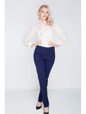 Легкие брюки с карманами DEMURYA. Цвет: синий