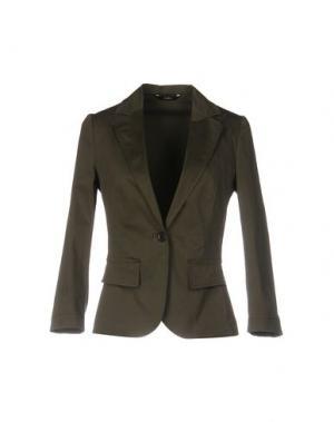Пиджак CARLA G.. Цвет: зеленый-милитари