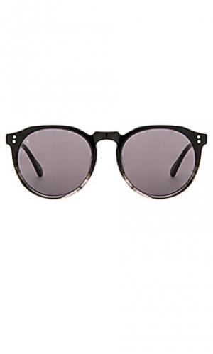 Солнцезащитные очки remmy RAEN. Цвет: черный