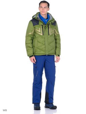 Куртка Think Pace. Цвет: темно-зеленый