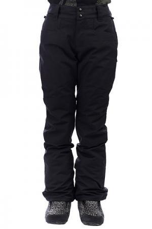 Штаны сноубордические женские  Chena Black Billabong. Цвет: черный