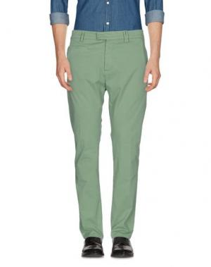 Повседневные брюки HAIKURE. Цвет: зеленый