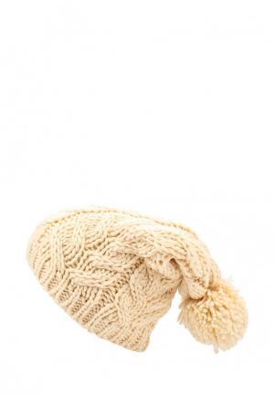 Шапка Rip Curl. Цвет: бежевый