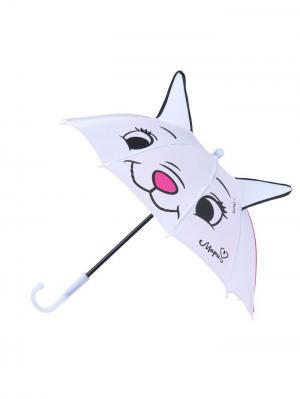 Зонт детский Красавица Мари,  с ушками Disney. Цвет: черный, фуксия, белый