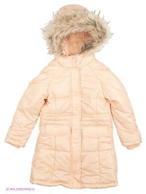 Куртка толст. синтеп Modis. Цвет: кремовый, персиковый