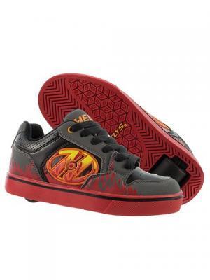 Роликовые кроссовки Heelys Motion Plus 770815 (13C). Цвет: черный, красный
