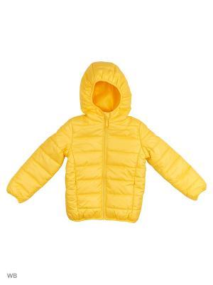 Куртка Modis. Цвет: золотистый, желтый