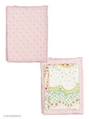 Комплект постельного белья Dream time. Цвет: розовый