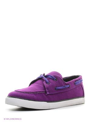 Мокасины 4U. Цвет: фиолетовый