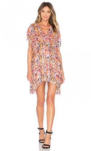 Платье plum IRO. Цвет: оранжевый