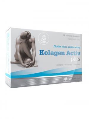 Витаминно-минеральный комплекс OLIMP Kolagen Active Plus  (80 таб) Nutrition. Цвет: белый