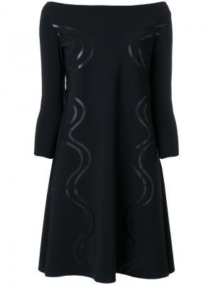 Платье Frida Chiara Boni La Petite Robe. Цвет: чёрный