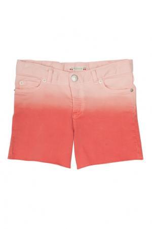 Джинсовые шорты Endy Bonpoint. Цвет: красный