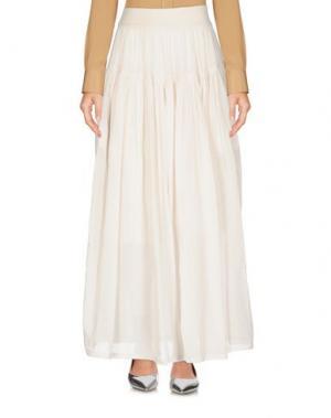 Длинная юбка EUROPEAN CULTURE. Цвет: слоновая кость