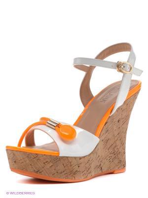 Босоножки MILANA. Цвет: оранжевый