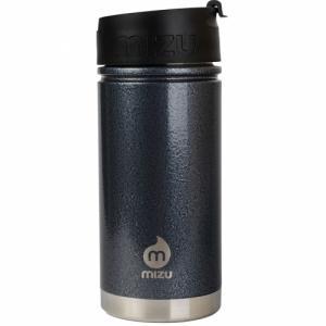 Термобутылка Для Воды MIZU. Цвет: gray hammer paint w/ coffee lid