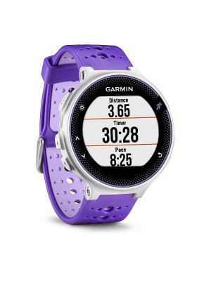 Умные часы Forerunner 230 бело-фиолетовые GARMIN. Цвет: фиолетовый, белый