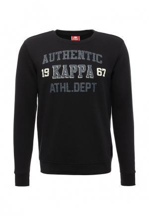 Свитшот Kappa. Цвет: черный