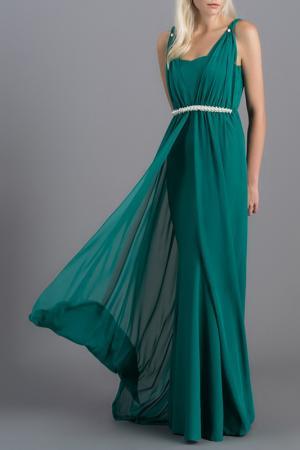 Платье Milla. Цвет: зеленый