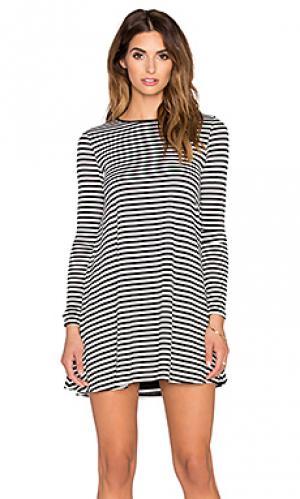 Платье tyler De Lacy. Цвет: black & white