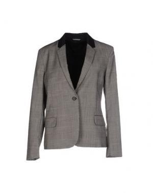 Пиджак TOTÊME. Цвет: серый