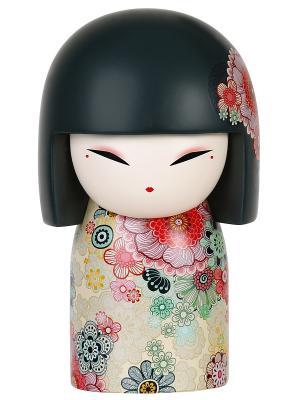 Кукла-талисман Тамако (Совершенство) Размер maxi (10,5х6,3 см.) Kimmidoll. Цвет: красный
