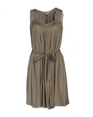 Короткое платье TWENTY8TWELVE. Цвет: зеленый-милитари