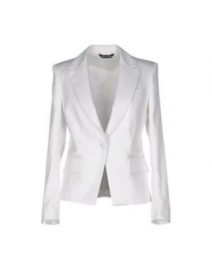 Пиджак BRIAN DALES. Цвет: белый